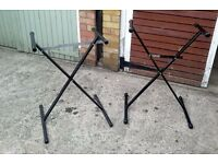 Keyboard Stand (s) buy both £15 or will split £8 each