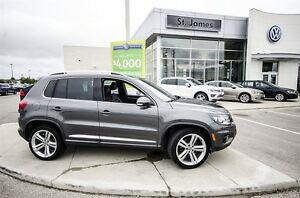 2014 Volkswagen Tiguan Highline - 100% Accident free!