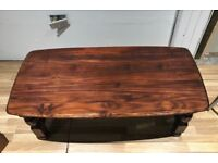 Solid wood coffee table for sale