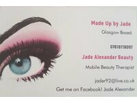 MAKE UP - SPRAY TAN - INDIVIDUAL LASHES - TINTS - EAR PIERCINGS - MOBILE BEAUTY THERAPIST