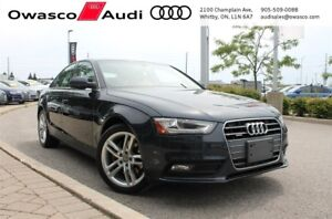 2013 Audi A4 Tiptronic quattro Premium w/ Navigation System