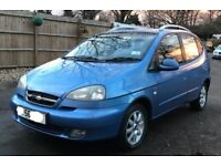 Automatic chevrolet tacuma for sale, very low mileage, MOT, drives perfect.