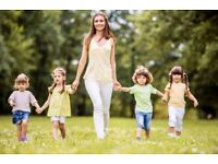 Seeking an Engaging and Hands on Live In Junior Nanny in South West, London for a Full Time role