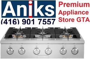 Electrolux ICON Professional Series E36GC76PRS 36in Pro-Style Slide-In Gas Rangetop with 6 sealed burners