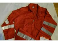 Flame Retardant Coveralls, Boilersuits, Various Colours, Sizes Available, All New. Grab a Bargain