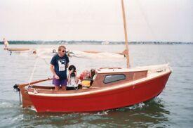West Wight Potter trailer sailor. 'A' Type. Trailer sailor