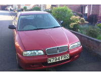 Rover 620 Si 2.0 litre, 91,000 miles, great runner MOT until 17/02/19