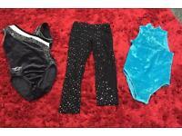 4-5 years gymnastic leotards and leggings