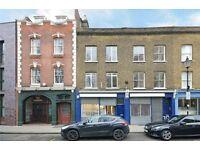 Four double bedroom/one reception flat spread over three floors available near Farringdon.