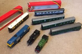 Hornby trains, carriages and accessories