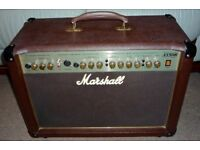Marshall AS 50 R Acoustic guitar amplifier.