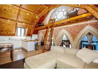 A stunning two double bedroom apartment to rent in a beautiful church conversion, Lynton Road