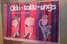 Okki-tokki-unga Action songs for Children - by Beatrice Harrop 1976