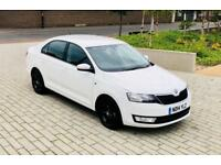 SKODA RAPID 1.6 SE TDI CR 5d 104 BHP (white) 2014