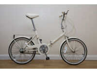 VINTAGE RALEIGH COMPACT LADIES / MENS FOLDING BIKE INGOOD CONDITION,SERVICED. 3 STURMY ARCGER GEARS