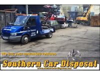Scrap vehicles wanted / Non-runners & MOT failures (All areas around Sussex)