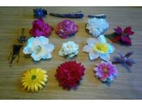 Flower hair accessories (vintage inspired)