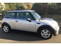 2006 AUTOMATIC MINI ONE AIR CONDITIONING SERVICE HISTORY ALLOY WHEELS EXCELLENT CONDITION AUTO ONE
