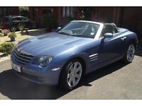 2005 reg Chrysler Crossfire auto roadster