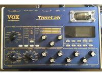 Vox Tonelab Desktop with VC4 Foot Controller
