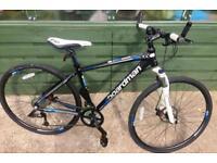 Boardman helmet & hybrid sports road bike (LIGHTWEIGHT) turbo trainer