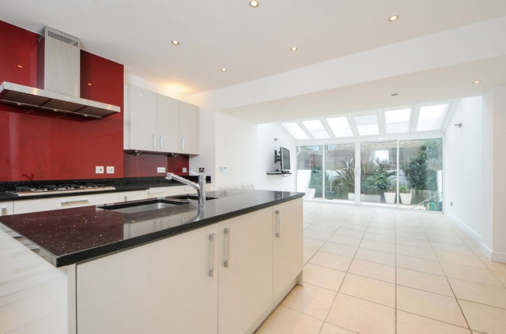 A stunning recently renovated 4 bed house, Anselm Road, SW6. Contact 020 3486 2290.