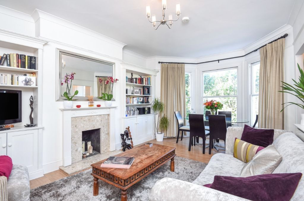 Stunning two bed flat in period conversion