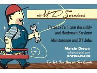 MD Services - Flatpack Furniture Assembly and Handyman services