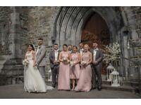 Blush Pink Bridesmaids Dresses & Wedding Items