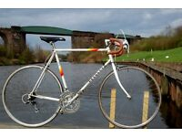 Retro Peugeot Mens Road Racing Bike Carbolite Steel Frame 60cm Fixie Eroica Classic