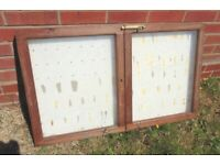 (#379) old wooden notice board (Pick up only, Dy4 area)
