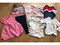 Big bundle of baby girls clothes 9-12 months