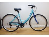 APOLLO MATIS LADIES LOOP FRAME HYBRID BIKE IN VERY GOOD CONDITION EASY TO RIDE BARGAIN AT £79