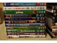 11 X CHILDRENS DVDS - If reading this they will still be for sale I will delete Ad when sold
