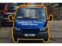 Scrap Vehicles - MOT Failures, Non-Runners & Accident Damaged Vehicles Wanted