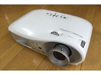"""Epson EMP-TW600 HD video projector + 80"""" inches screen"""