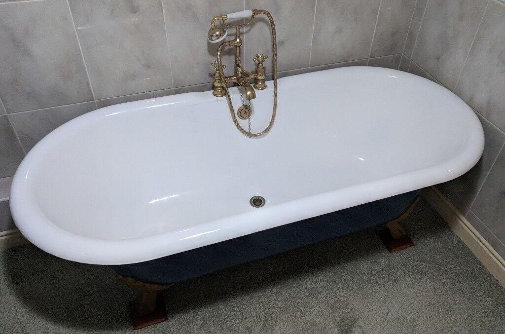 Outstanding Roll Top Bath Tub Photo - Bathtub Ideas - dilata.info