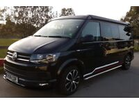 Volkswagen Transporter T6 4 Berth Campervan 6 Speed 2l TDI 140 bhp Black Tailgate