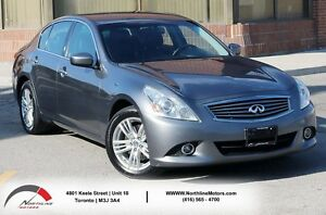 2011 Infiniti G37X Luxury | Backup Camera | Heated Seat | No Acc