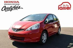 2010 Honda Fit DX 10 ANS/200 000 KM