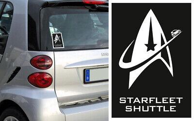 """Smart Aufkleber - Smart Fortwo - Starfleet Shuttle - """"Volle Energie!"""", gebraucht gebraucht kaufen  Königswinter"""