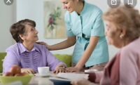 Live-in caregiver or nurse for elderly woman