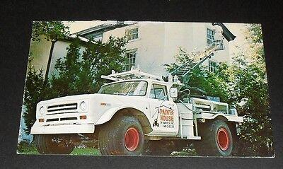 Paint a House Vintage Truck Advertising Transportation Postcard