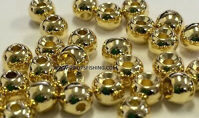 """400 Assorted Beads Fly Tying w//case  5//32/"""" 4mm MAT240 Gold Copper Nickel Black"""