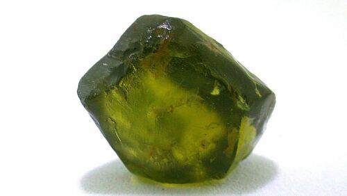 5.98 Gram LARGE RARE Peridot Facet Olive Green Rough Gem Stone Gemstone EBS2107