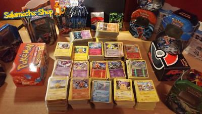 Lot 50 Cartes Pokemon Francaises 100% Pas de double NEUF + Brillante + Rare