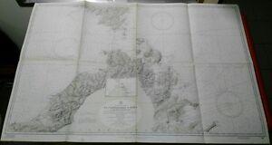 nautical-chart-DA-CASTELSARDO-A-OLBIA-Bocche-di-Bonifacio-dai-rilievi-del-1879