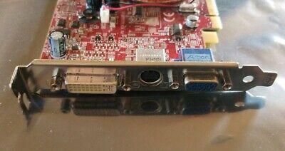 MSI ATI Radeon 8964 X600 Pro 128MB PCI-e Full Profile Graphics Video Card  Ati Radeon X600 Pro