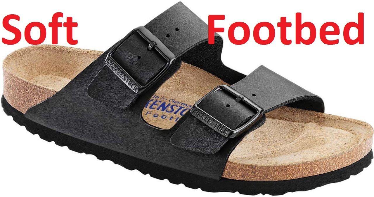 SALE  BIRKENSTOCK ARIZONA Black or Arizona Soft Footbed ALL SIZES