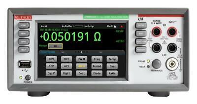 New Tektronix Dmm6500 6-12 Digit Benchsystem Digital Multimeter